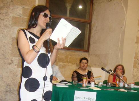 A Serena Maffia il Premio Mons Aureus 02