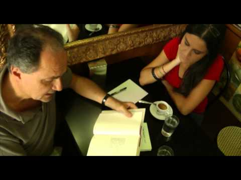 I poeti Claudio Damiani e Serena Maffia