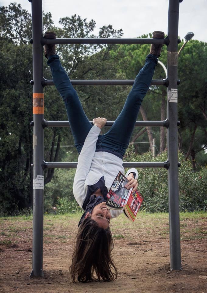 la scrittrice serena maffia foto di Eduardo Fiorito