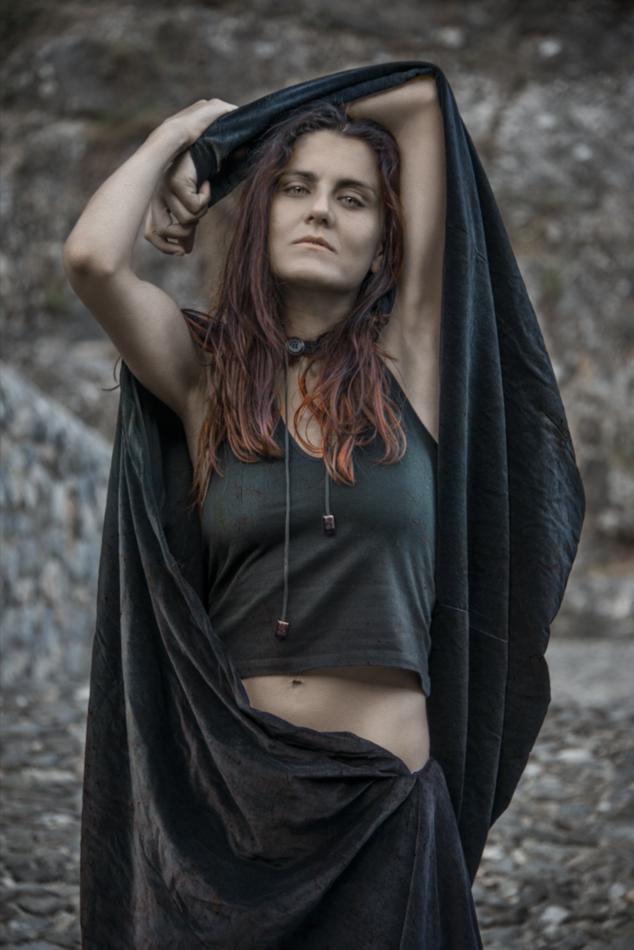 serena maffia strega foto di eduardo fiorito