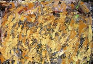 Serena Maffia, Origine del Mondo tec mix su tela cm100x70