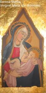 Serena Maffia, Vergine Maria con Bambino