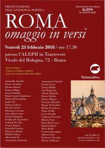 Serena Maffia per Roma omaggio in versi